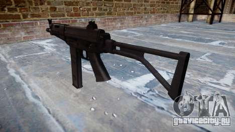 Пистолет-пулемёт Taurus MT-40 buttstock2 icon2 для GTA 4 второй скриншот