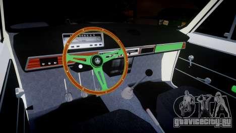 ВАЗ-2101 Копейка для GTA 4 вид изнутри