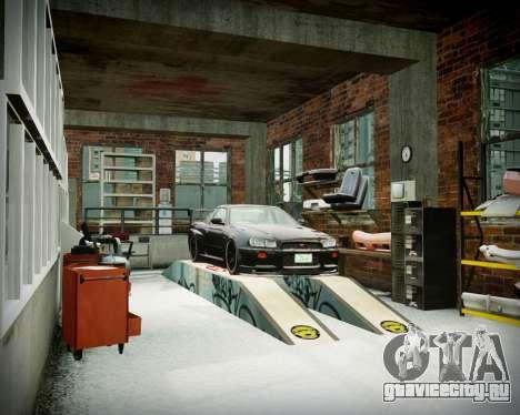 Гараж с новым интерьером в Алкогвине для GTA 4 десятый скриншот