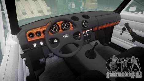 ВАЗ-2106 Vossen для GTA 4 вид изнутри