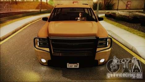 GTA 5 Granger для GTA San Andreas вид сзади слева
