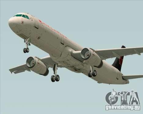 Airbus A321-200 Air Canada для GTA San Andreas вид сбоку