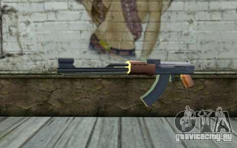 AK47 from Beta Version для GTA San Andreas