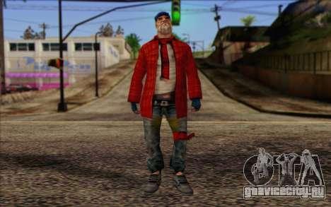 Vagabonds Skin 3 для GTA San Andreas