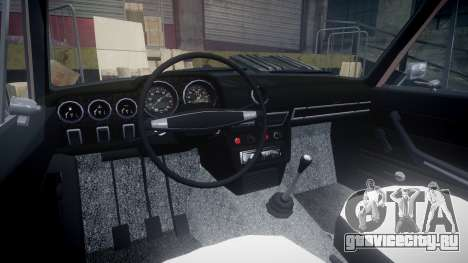 ВАЗ-2106 хулиганский азербайджанский стиль для GTA 4 вид сзади