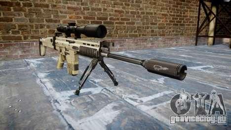 Винтовка Mk 17 SCAR-H bipod для GTA 4