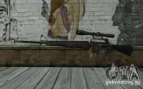 M16S from Battlefield: Vietnam для GTA San Andreas