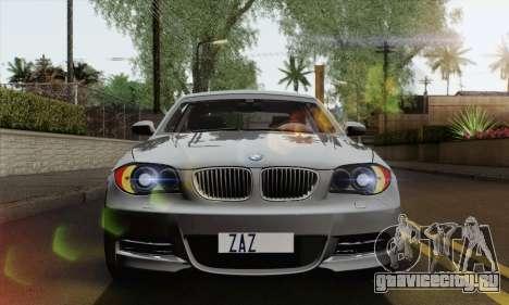 BMW 135i 2009 для GTA San Andreas вид справа