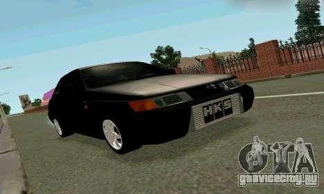 ВАЗ 21123 Черныш для GTA San Andreas вид слева