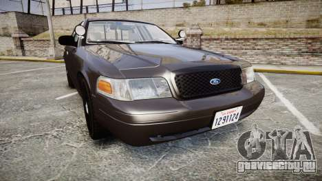 Ford Crown Victoria LASD [ELS] Unmarked для GTA 4