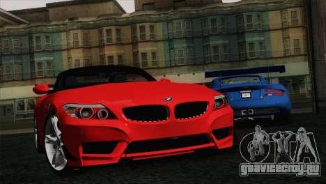 BMW Z4 sDrive28i 2012 Racing для GTA San Andreas