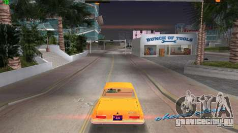 Dodge 330 Max Wedge Ramcharger 1963 для GTA Vice City вид слева