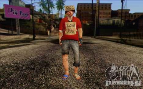 Vagabonds Skin 2 для GTA San Andreas