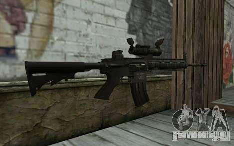 HK416 (Bump mapping) v1 для GTA San Andreas второй скриншот