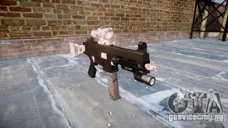 Пистолет-пулемёт UMP45 Cherry blossom для GTA 4