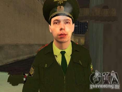 Прапорщик Соколов для GTA San Andreas третий скриншот