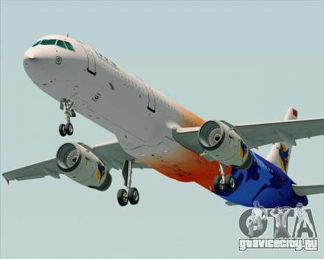 Airbus A321-200 Myanmar Airways International для GTA San Andreas двигатель
