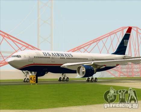 Airbus A330-200 US Airways для GTA San Andreas вид сверху