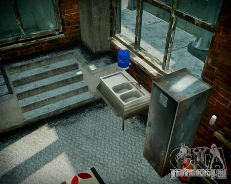 Гараж с новым интерьером в Алкогвине для GTA 4 двенадцатый скриншот