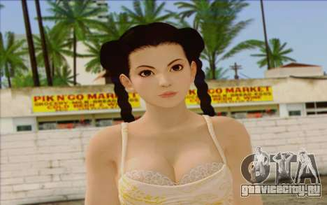 Pai from Dead or Alive 5 v3 для GTA San Andreas третий скриншот