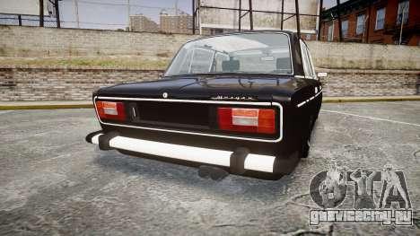 ВАЗ-2106 Vossen для GTA 4 вид сзади слева