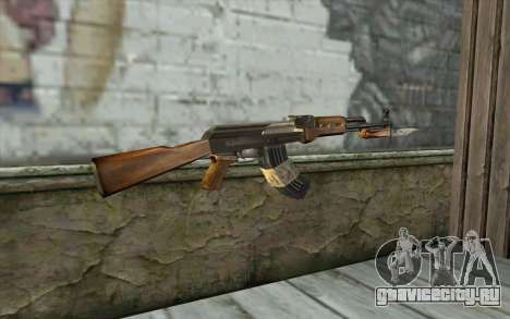 AK47 from Firearms v1 для GTA San Andreas второй скриншот