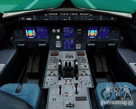 Airbus A321-200 Air Canada для GTA San Andreas салон