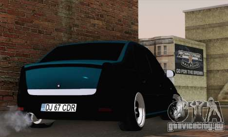 Dacia Logan 1.6 DJ для GTA San Andreas вид слева
