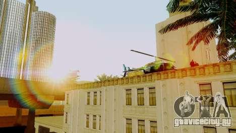 Новый транспорт в LSPD и его оживление для GTA San Andreas второй скриншот
