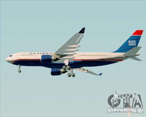 Airbus A330-200 US Airways для GTA San Andreas вид справа