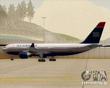 Airbus A330-200 US Airways для GTA San Andreas колёса