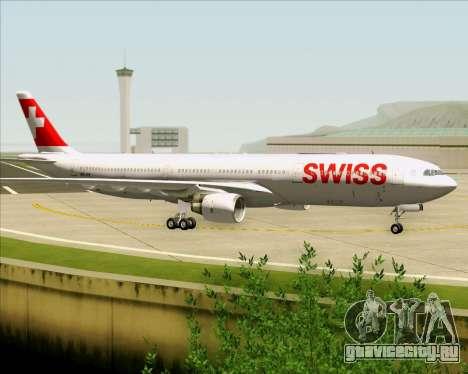 Airbus A330-300X Swiss International Air Lines для GTA San Andreas вид сбоку