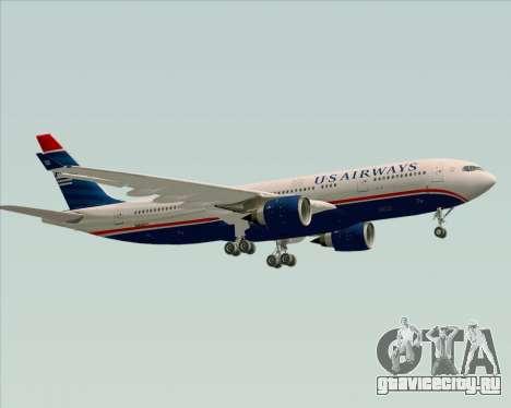 Airbus A330-200 US Airways для GTA San Andreas вид изнутри