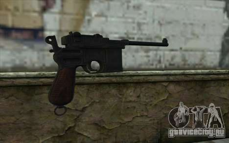 Mauser C96 v2 для GTA San Andreas второй скриншот