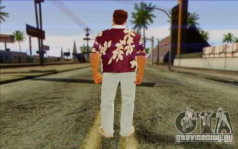Diaz Gang from GTA Vice City Skin 1 для GTA San Andreas второй скриншот