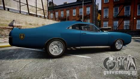 Imponte Dukes Police для GTA 4 вид слева