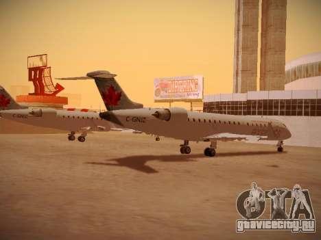 Bombardier CRJ-700 Air Canada Express для GTA San Andreas вид сзади