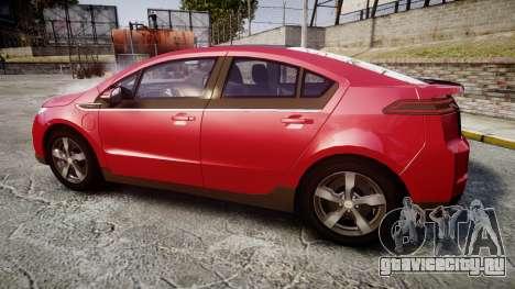Chevrolet Volt 2011 v1.01 rims1 для GTA 4 вид слева