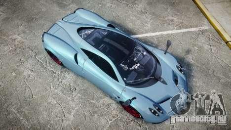 Pagani Huayra 2013 [RIV] для GTA 4 вид справа