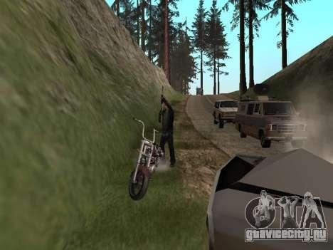 Изменение территорий банд и их оружия для GTA San Andreas