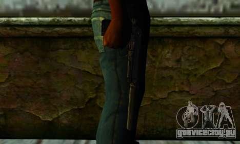 Beretta M9 Silenced для GTA San Andreas третий скриншот