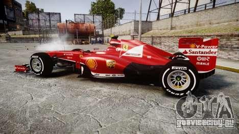 Ferrari F138 v2.0 [RIV] Massa TMD для GTA 4 вид слева
