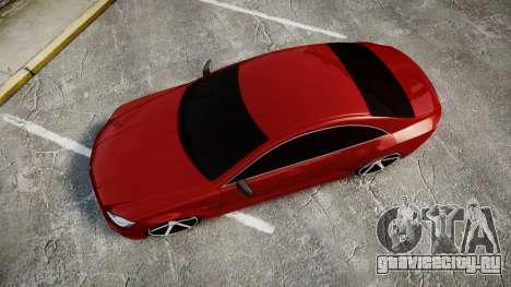 Mercedes-Benz CLS 63 AMG Vossen для GTA 4 вид справа