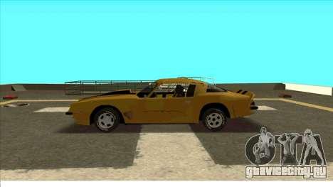 Chevrolet Camaro Z28 Bumblebee для GTA San Andreas