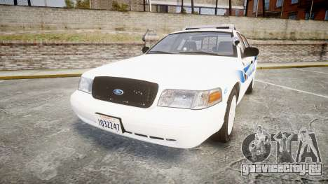 Ford Crown Victoria PS Police [ELS] для GTA 4