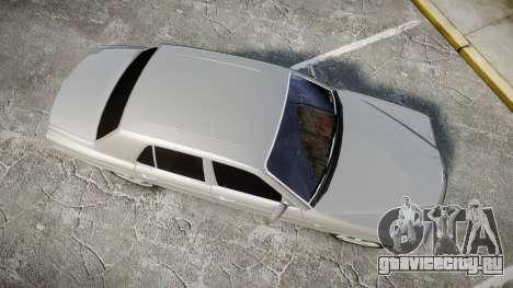 Bentley Arnage T 2005 Rims3 для GTA 4 вид справа