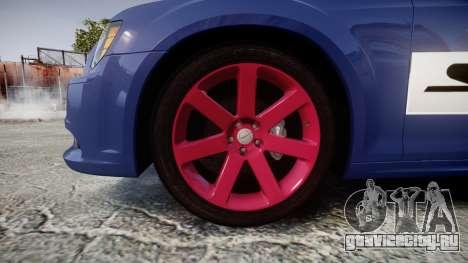 Chrysler 300 SRT8 2012 PJ SRT8 для GTA 4 вид сзади