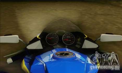 ATV Quad для GTA San Andreas вид сзади слева