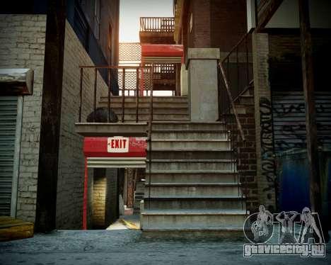 Гараж с новым интерьером в Алкогвине для GTA 4 четвёртый скриншот