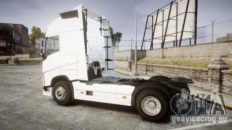 Volvo FH16 для GTA 4 вид слева